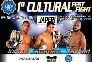 Japeri promove 1º Cultural Fest Fight